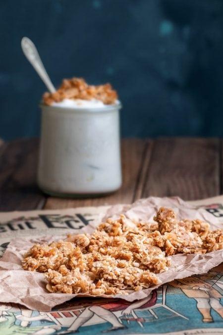 Granola maison à la noix de coco | quatresous.fr