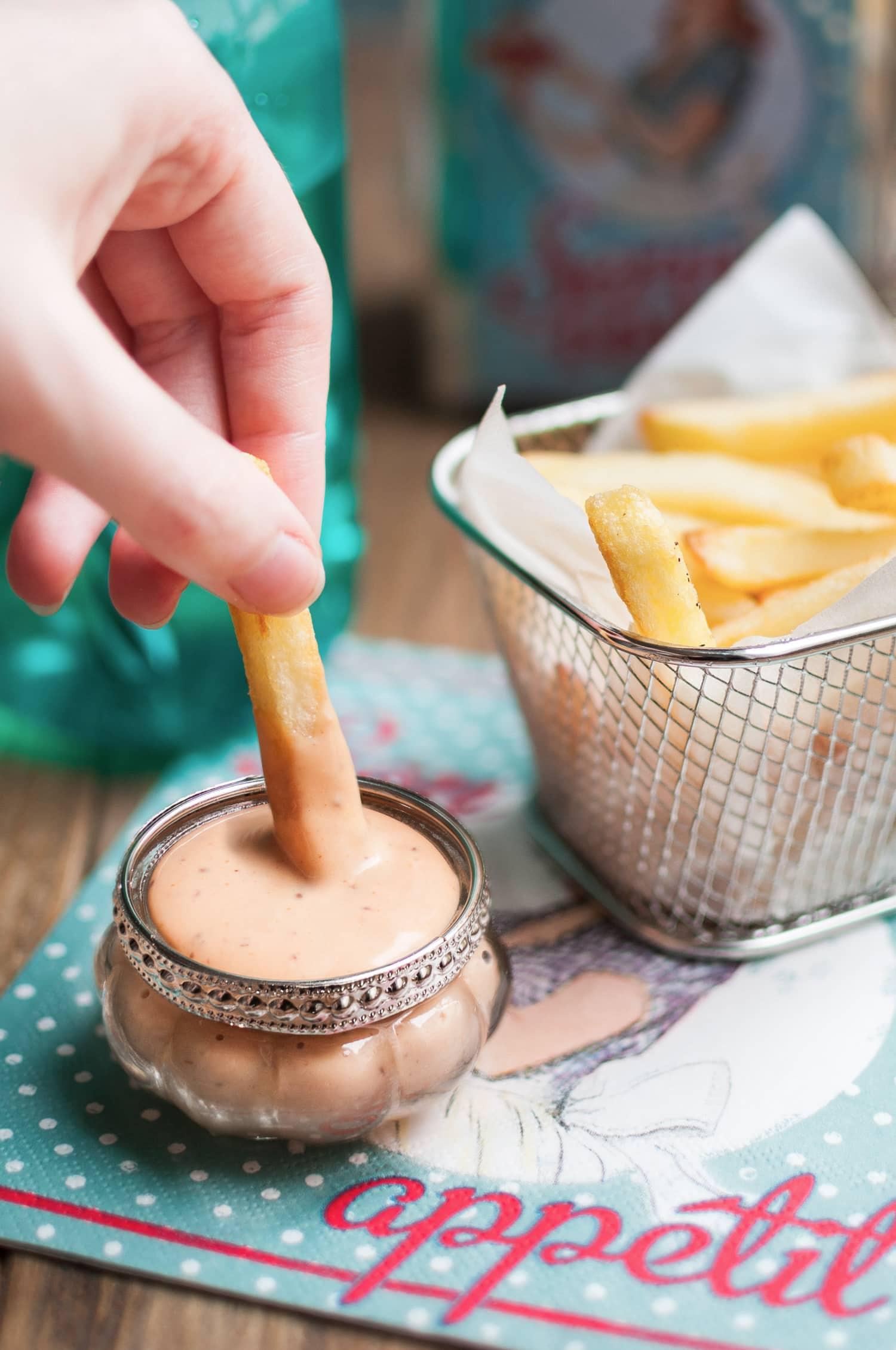 Ma recette secrète de sauce pommes frites | quatresous.fr