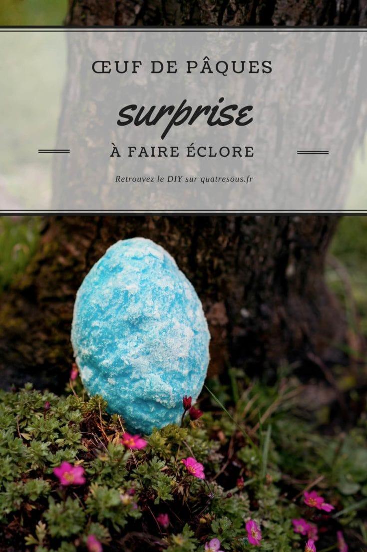 Œufs surprises (sans chocolat !) pour Pâques | quatresous.fr