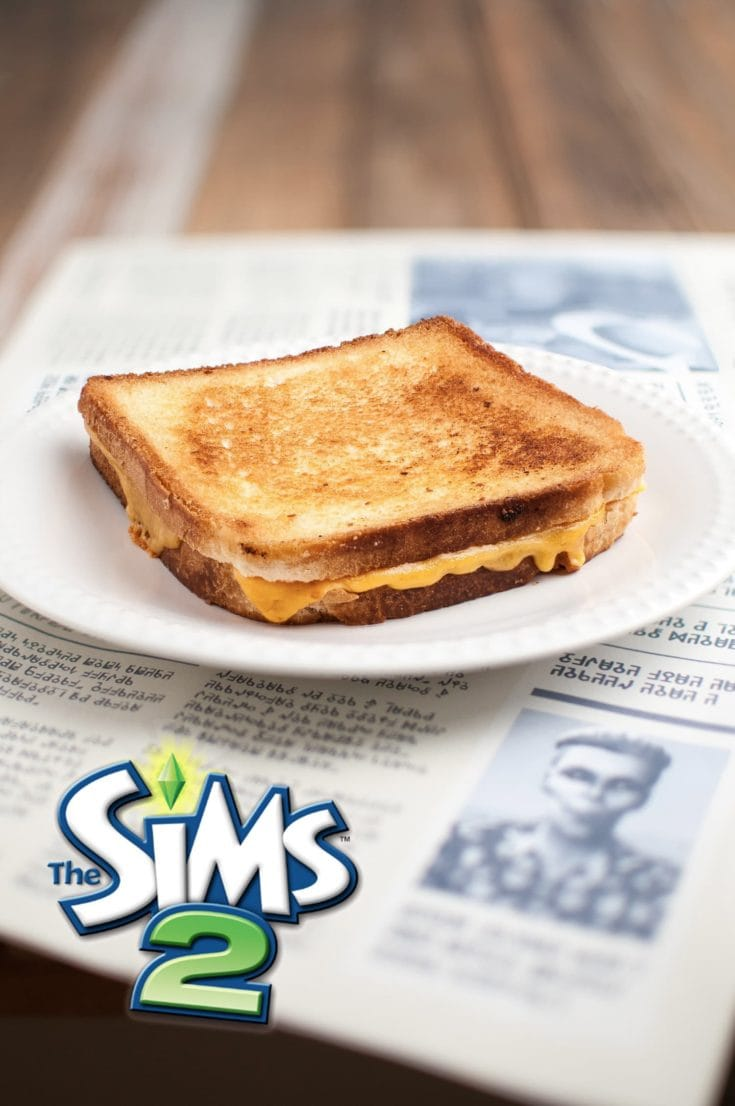 La recette du sandwich au fromage fondu des Sims | quatresous.fr