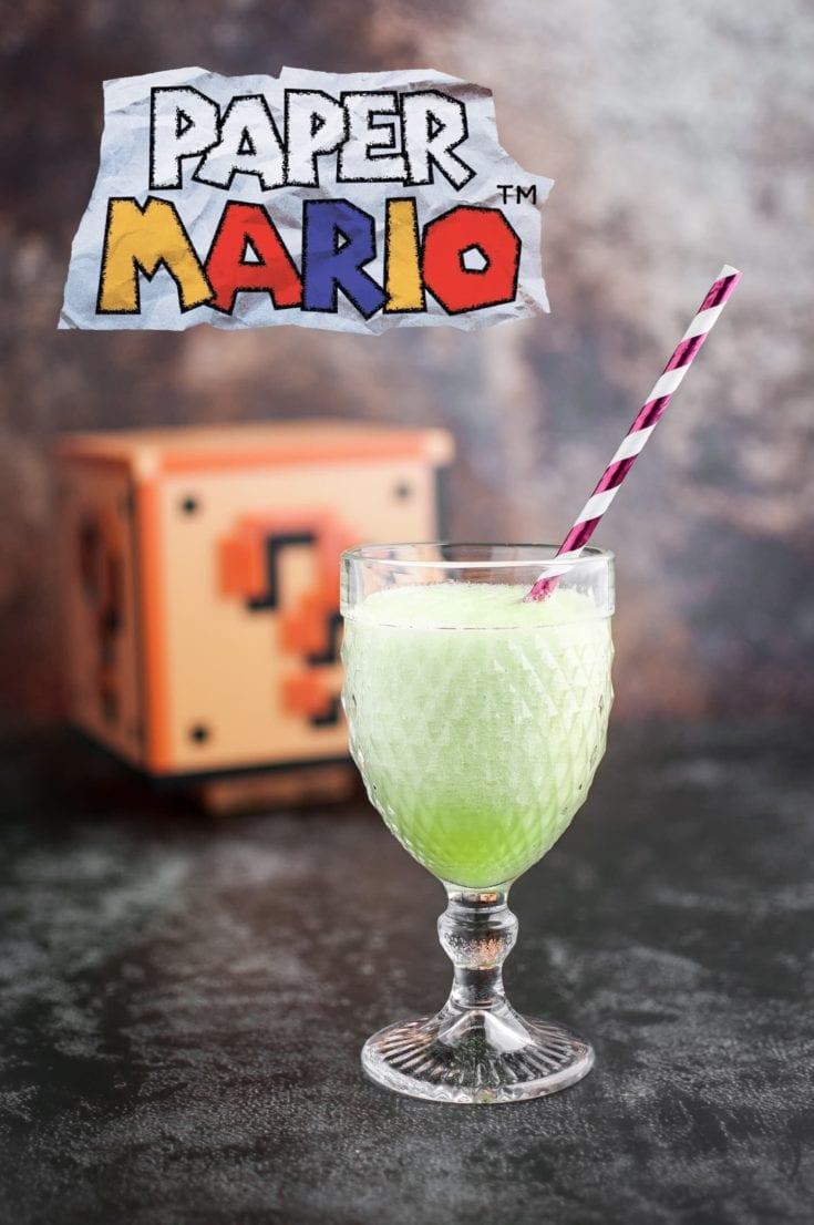 La recette du Special Shake de Paper Mario   quatresous.fr