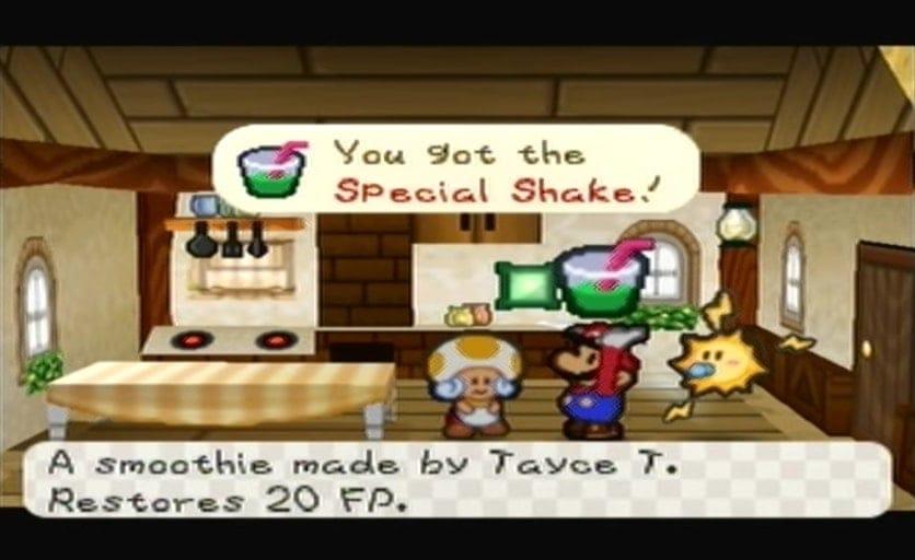 Le Special Shake de Paper Mario