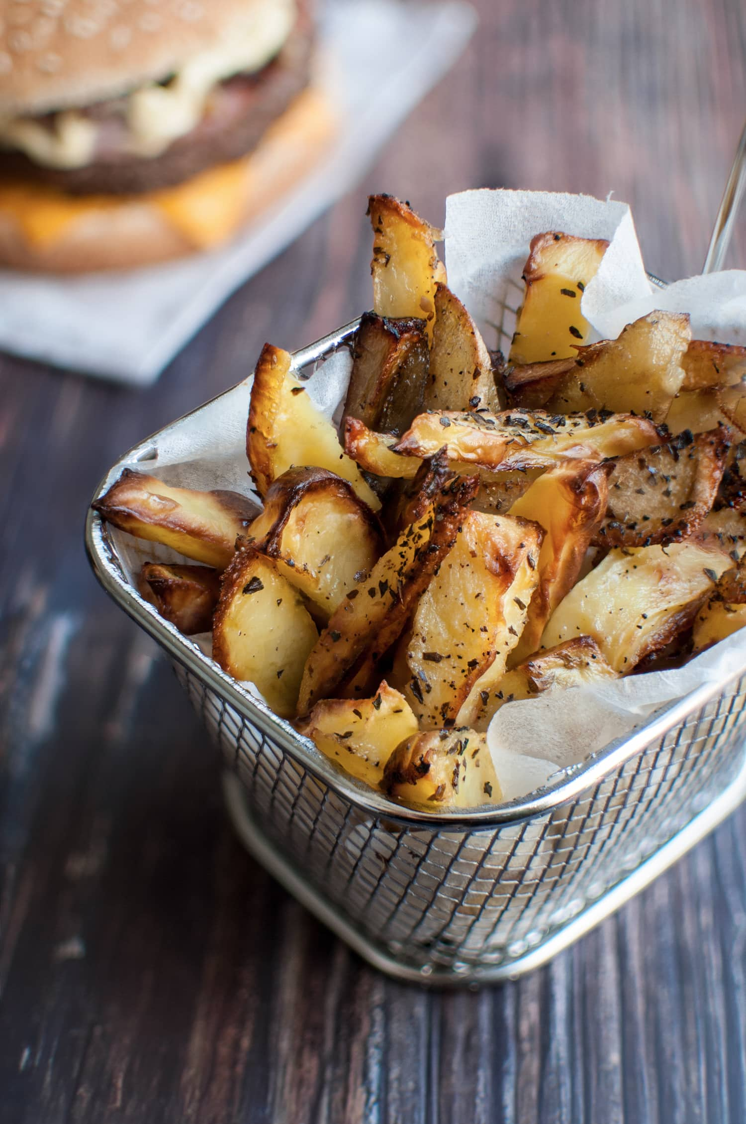 Frites healthy au four | quatresous.fr