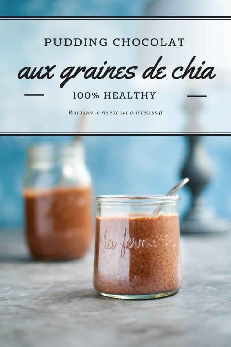 Chia pudding au chocolat | quatresous.fr