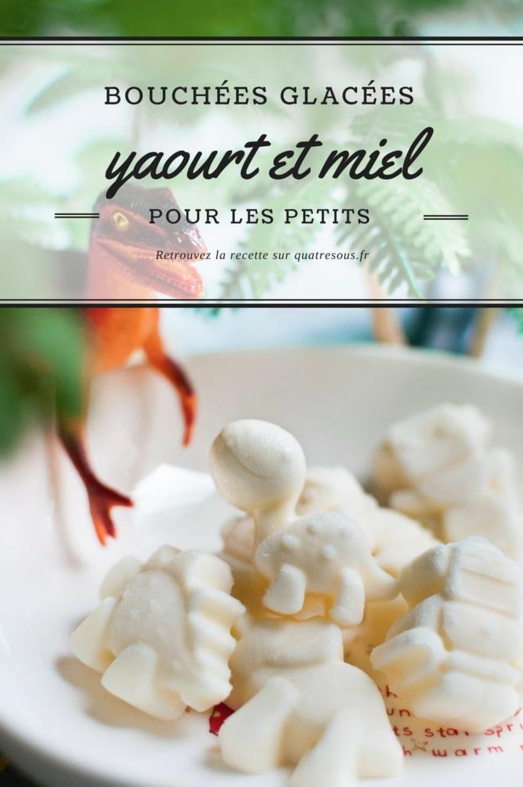 Bouchées glacées yaourt et miel   quatresous.fr