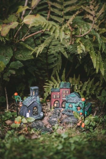 Village d'Halloween fait maison | quatresous.fr