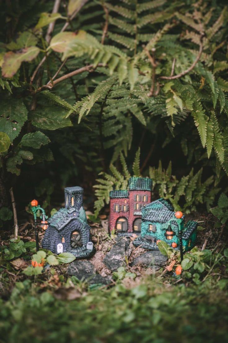 Petites maisons d'Halloween