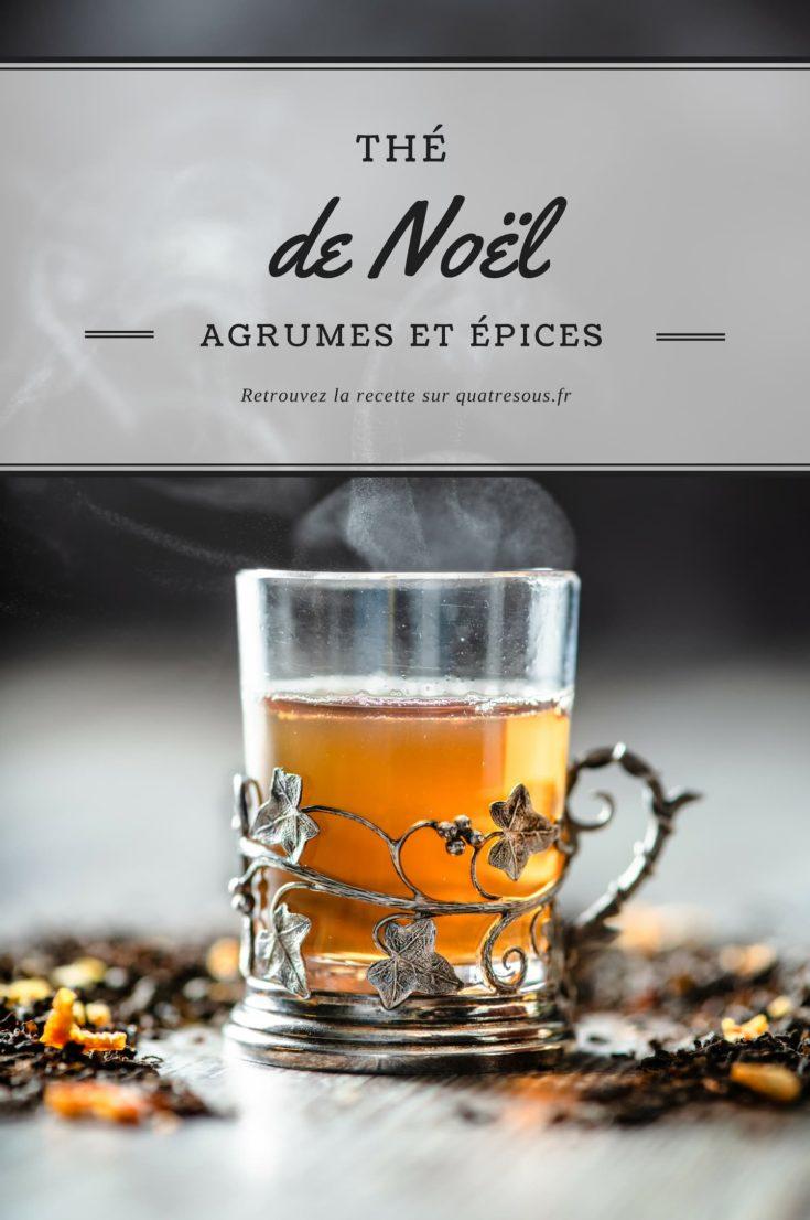 Thé de Noël fait maison aux agrumes et aux épices | quatresous.fr