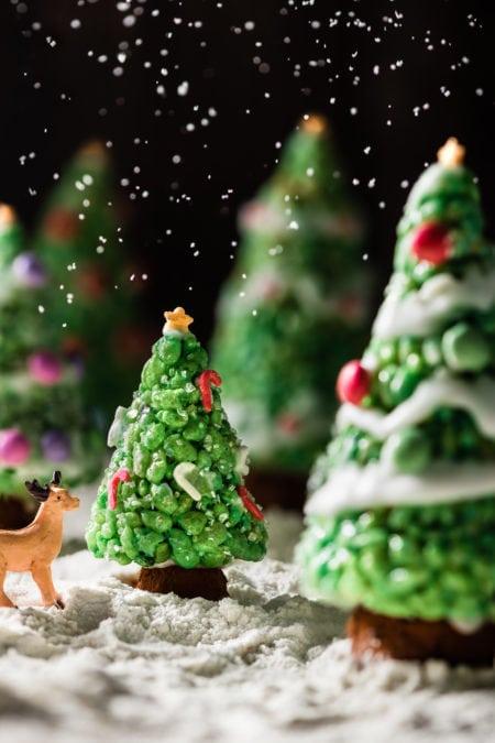 Sapins croustillants de Noël | quatresous.fr