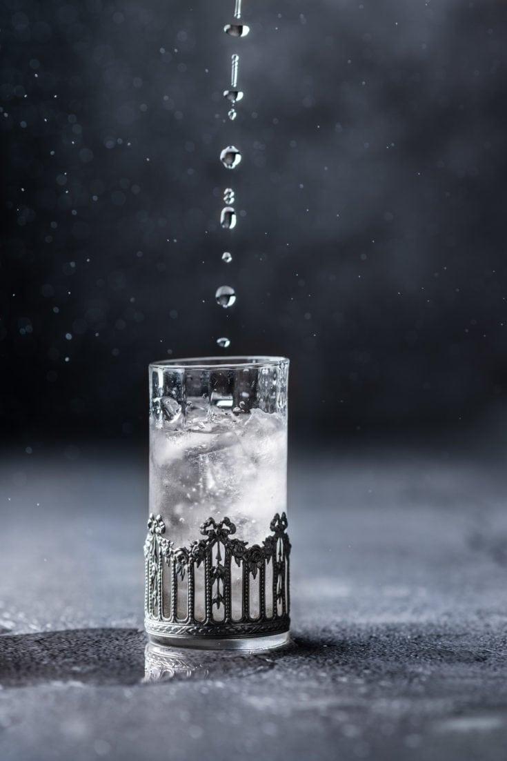 Café blanc glacé
