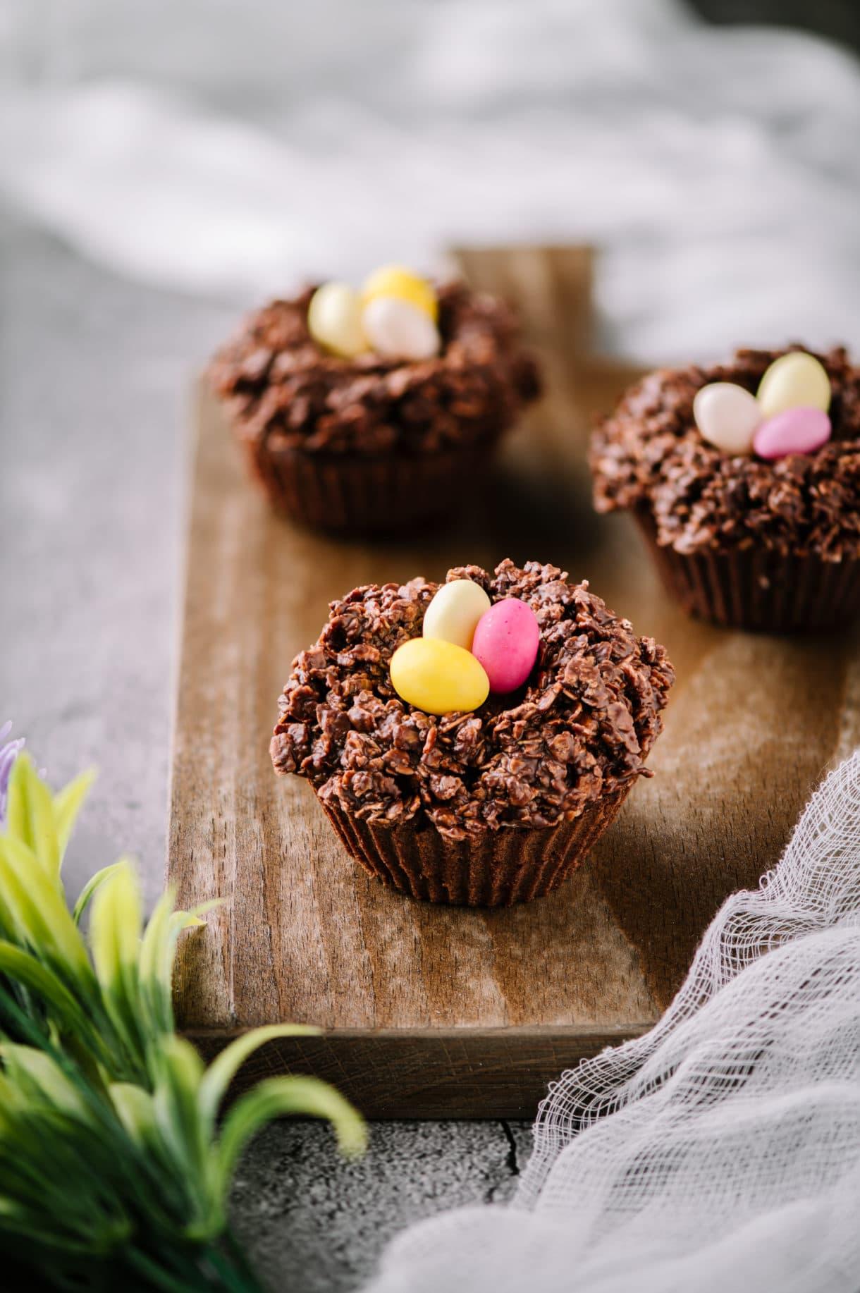 Muffins de Pâques poire chocolat | quatresous.fr