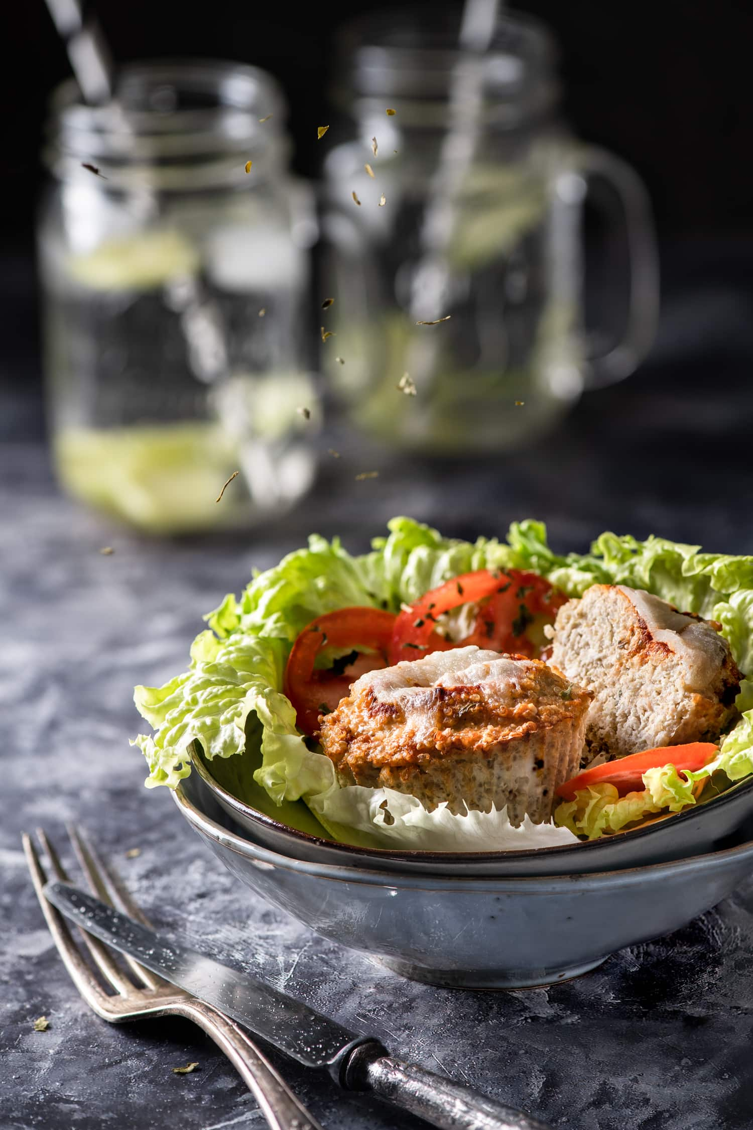Petits pains de viande à la dinde et au quinoa | quatresous.fr